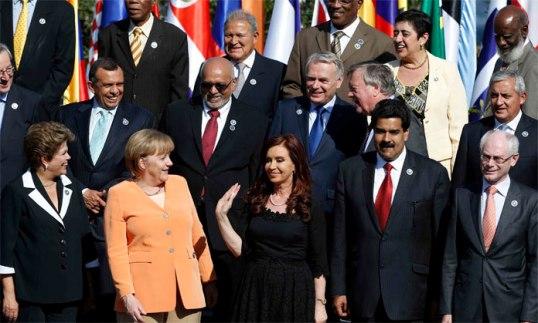 La Cumbre Celac-UE es la primera que reúne a la gran mayoría de los mandatarios latinoamericanos y europeos